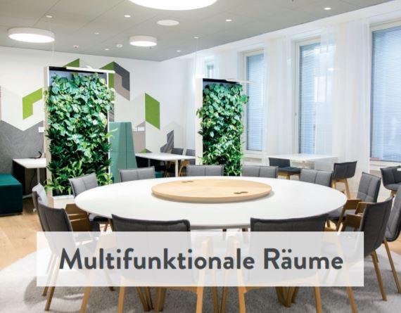Naava Natur Trenwand für multifunktionale Räume